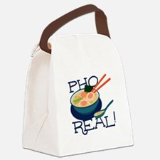 Pho Real Canvas Lunch Bag