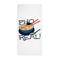 Pho Real Beach Towel