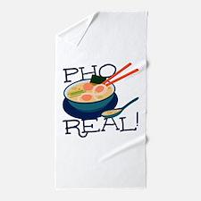 Pho Real Beach Towel