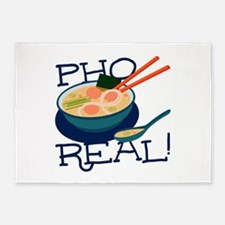 Pho Real 5'x7'Area Rug