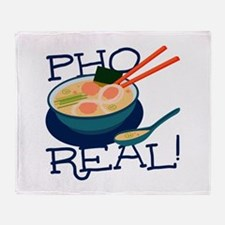 Pho Real Throw Blanket