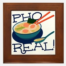 Pho Real Framed Tile