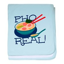 Pho Real baby blanket