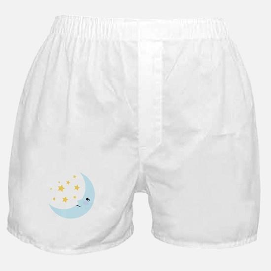 Sweet Dreams Moon Boxer Shorts