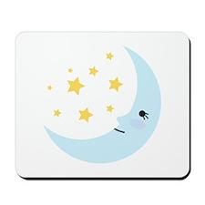 Sweet Dreams Moon Mousepad