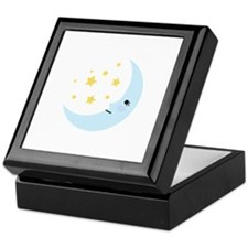 Sweet Dreams Moon Keepsake Box