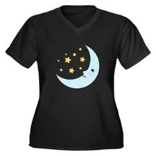 Sweet Dreams Moon Plus Size T-Shirt