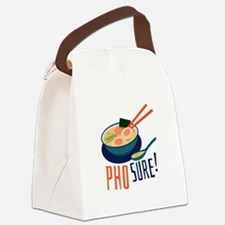 Pho Sure Canvas Lunch Bag