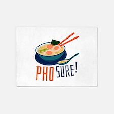 Pho Sure 5'x7'Area Rug
