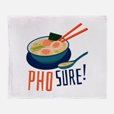 Pho Sure Throw Blanket