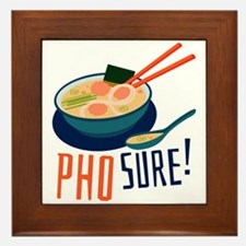 Pho Sure Framed Tile