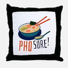 Pho Sure Throw Pillow