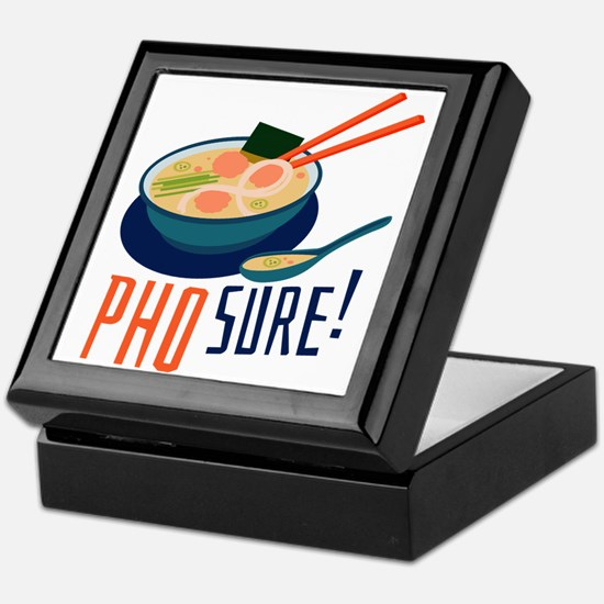 Pho Sure Keepsake Box
