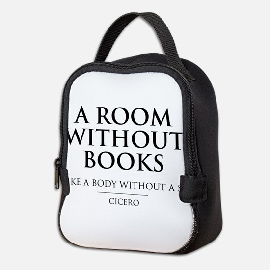 Room without books body without a soul Neoprene Lu