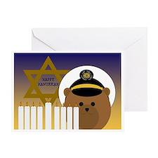 From Coast Guardsman Hanukkah Card Greeting Cards