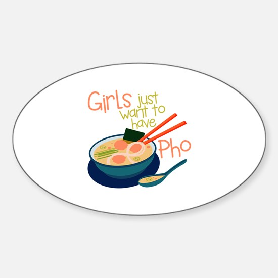 Girls Just Decal