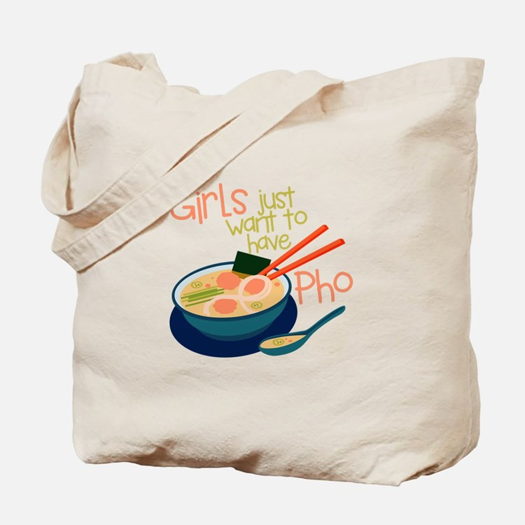 Girls Just Tote Bag
