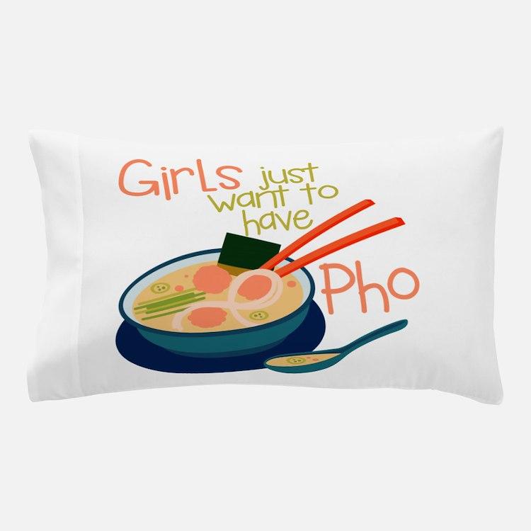 Girls Just Pillow Case