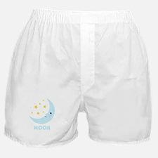 Night Moon Boxer Shorts