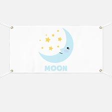 Night Moon Banner