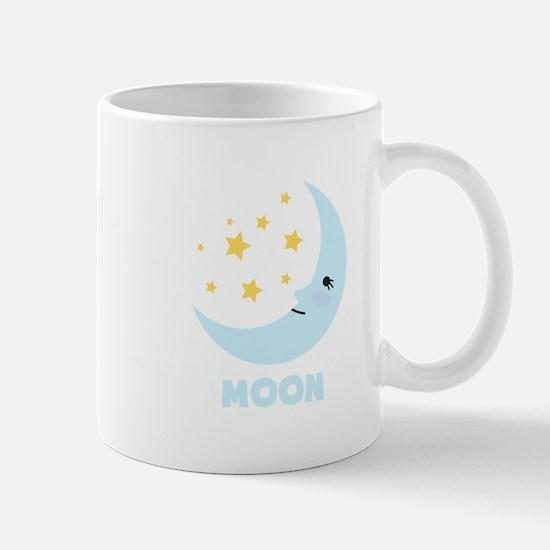 Night Moon Mugs