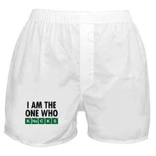 The One Who Knocks Boxer Shorts