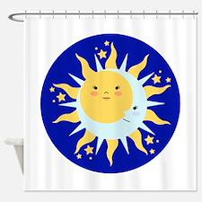 Solstice Sun Shower Curtain