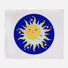 Solstice Sun Throw Blanket