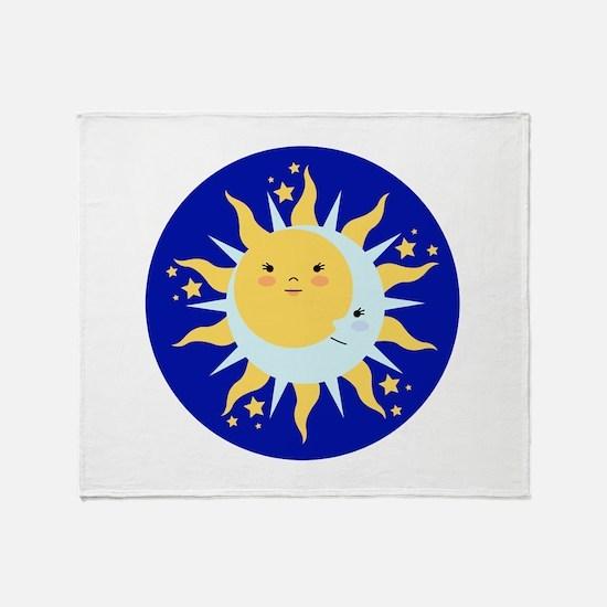 Solstice Sun Throw Blanket