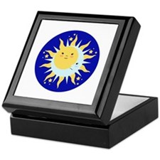 Solstice Sun Keepsake Box