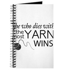 She who dies with the most yarn wins Journal