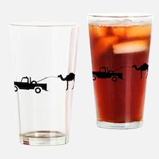 Camel Toe Drinking Glass