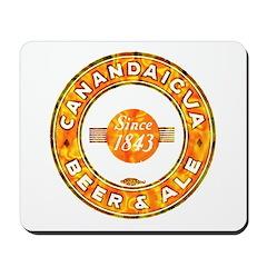 Canandaicua Beer-1937 Mousepad