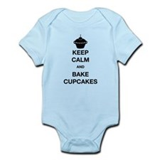 Keep Calm and Bake Cupcakes Body Suit