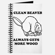 A Clean Beaver Always Gets More Wood Journal