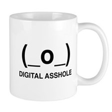 Digital Asshole Mugs