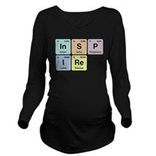 Inspire Chemistry Long Sleeve Maternity T-Shirt