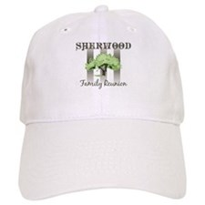 SHERWOOD family reunion (tree Baseball Cap