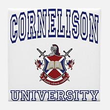 CORNELISON University Tile Coaster