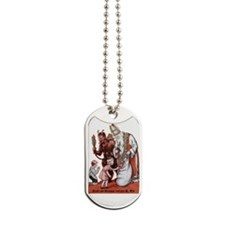 St. Nick & The Krampus Dog Tags