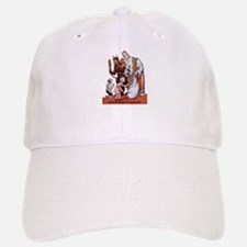 St. Nick & The Krampus Baseball Baseball Cap
