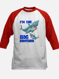 Big Brother Shark Kids Baseball Jersey