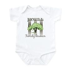 MCGILL family reunion (tree) Infant Bodysuit