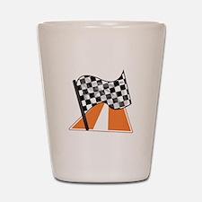 Race Flag Shot Glass