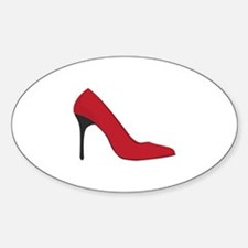 Red Shoe Decal