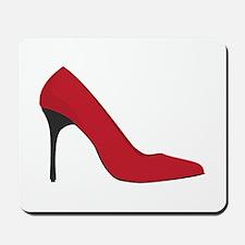 Red Shoe Mousepad