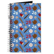 Baseball Number 26 Journal