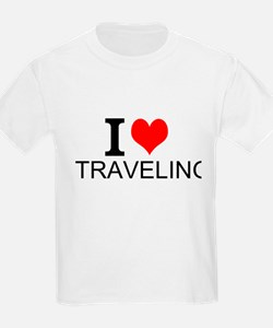 I Love Traveling T-Shirt