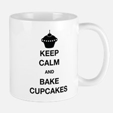 Keep Calm and Bake Cupcakes Mugs
