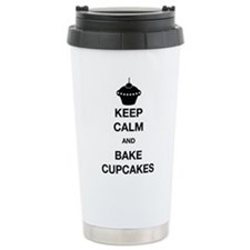 Keep Calm and Bake Cupc Travel Mug